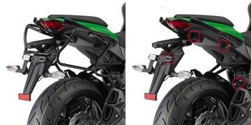Resim Givi Plxr4100 Kawasaki Z 1000 Sx (11-15) Motosiklet Yan Çanta Taşıyıcı