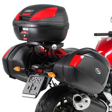 Resim Givi Plxr359 Yamaha Fz1 Fazer 1000 (06-15) Motosiklet Yan Çanta Taşıyıcı