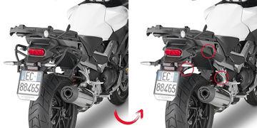 Resim Givi Plxr1139 Honda Crossrunner 800 (15) Motosiklet Yan Çanta Taşıyıcı