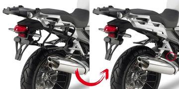 Resim Givi Plxr1110 Honda Crosstourer 1200 (12-15) Motosiklet Yan Çanta Taşıyıcı