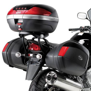 Resim Givi Plx539 Suzuki Gsf 650-1250 Bandit (07-11) Gsx 650f - 1250f (10-15) Motosiklet Yan Çanta Taşıyıcı