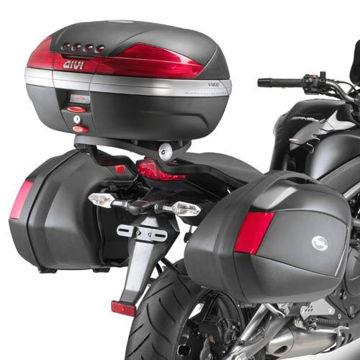 Resim Givi Plx449 Kawasaki Er-6n - Er-6f 650 (09-11) Motosiklet Yan Çanta Taşıyıcı