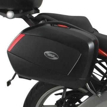 Resim Givi Plx447 Kawasaki Versys 650 (06-09) Motosiklet Yan Çanta Taşıyıcı