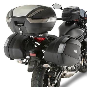 Resim Givi Plx4104 Kawasaki Er-6n - Er-6f 650 (12-15) Motosiklet Yan Çanta Taşıyıcı