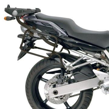 Resim Givi Plx351 Yamaha Fz6 - Fz6 600 Fazer (04-06) Motosiklet Yan Çanta Taşıyıcı