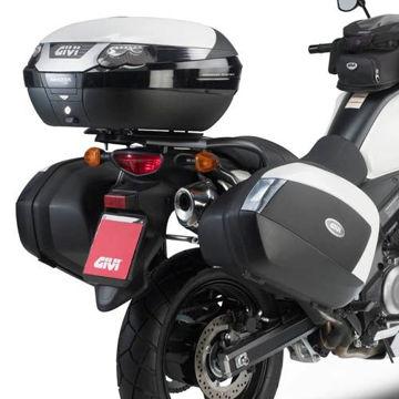 Resim Givi Plx3101 Suzuki Dl 650 V-strom (11-15) Motosiklet Yan Çanta Taşıyıcı