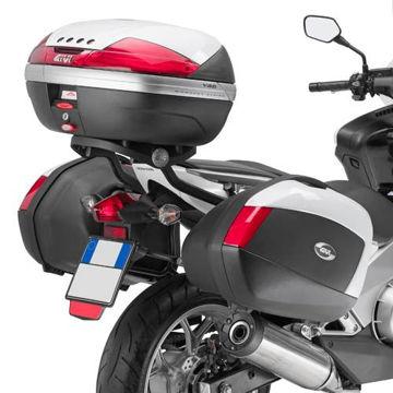 Resim Givi Plx1109 Honda Integra 700 (12-13) Motosiklet Yan Çanta Taşıyıcı