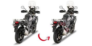 Resim Givi Plr3105 Suzuki Dl 1000 V-Strom (14-15) Motosiklet Yan Çanta Taşıyıcı