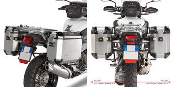 Resim Givi Plr1110CAM Honda Crosstourer 1200 (12-15) Motosiklet Yan Çanta Taşıyıcı
