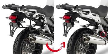 Resim Givi Plr1110 Honda Crosstourer 1200 (12-15) Motosiklet Yan Çanta Taşıyıcı