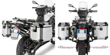 Resim Givi Pl5103CAM Bmw F650GS - F800GS (08-15) - F700GS (13-15) Motosiklet Yan Çanta Taşıyıcı