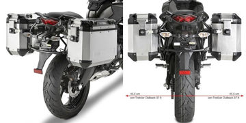 Resim Givi Pl4103CAM Kawasaki Versys 650 (10-14) Motosiklet Yan Çanta Taşıyıcı