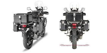 Resim Givi Pl3105CAM Suzuki Dl 1000 V-Strom (14-15) Motosiklet Yan Çanta Taşıyıcı