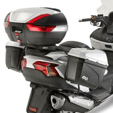 Resim Givi Pl3104 Suzuki Burgman 650 - 650 Executive (13-15) Motosiklet Yan Çanta Taşıyıcı
