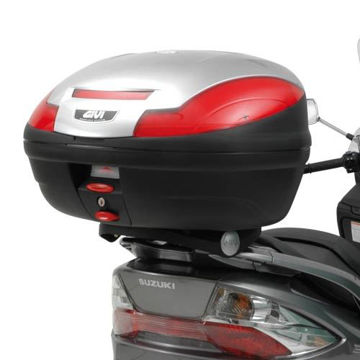 Resim Givi E531M Suzuki Burgman 400 (06-15) Motosiklet Arka Çanta Taşıyıcı