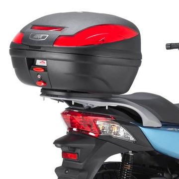 Resim Givi E223 Honda SH300I Motosiklet Arka Çanta Taşıyıcı