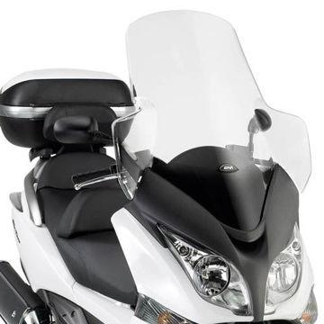 Resim Givi D318ST Honda SW-T 400-600 (09-15) Motosiklet Rüzgar Siperliği