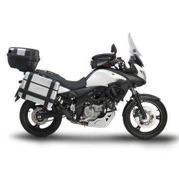 Resim Givi D3101KIT Suzukı DL 650 V-STROM (11-15) Motosiklet Rüzgar Siperliği Bağlantısı