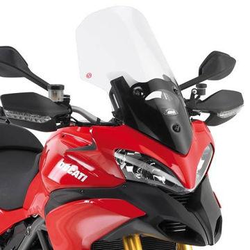 Resim Givi D272ST Ducatı Multıstrada 1200 (10-12) Motosiklet Rüzgar Siperliği