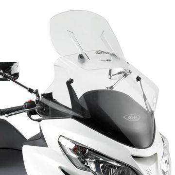 Resim Givi AF266 Suzukı Burgman 400 K7-K8-K9 (06-15) Motosiklet Rüzgar Siperliği