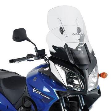 Resim Givi AF260 Suzukı DL 650-1000 (04-11) -Kawasakı KLV 1000 (04-10) Motosiklet Rüzgar Siperliği