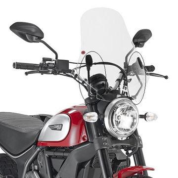 Resim Givi A7407A Ducatı Scrambler 800 (15) Motosiklet Rüzgar Siperliği Bağlantısı