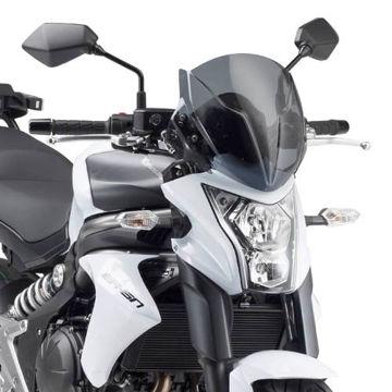 Resim Givi A4104 Kawasakı ER-6N 650 (12-15) Motosiklet Rüzgar Siperliği