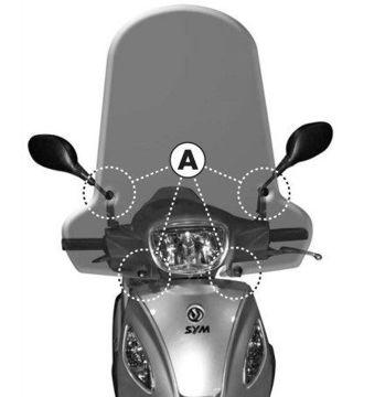 Resim Givi A297A Sym Symphony SR 50-125-151 (10-15) Motosiklet Rüzgar Siperliği Bağlantısı