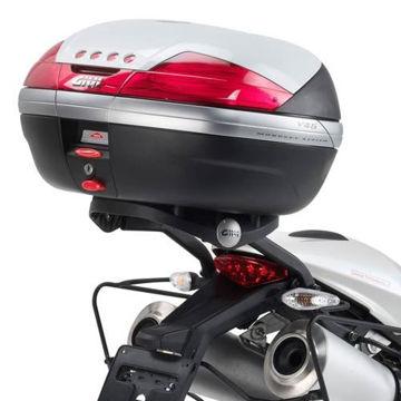 Resim Givi 780FZ Ducati Monster 696-796-1100 - 1100Evo (08-14) Motosiklet Arka Çanta Taşıyıcı