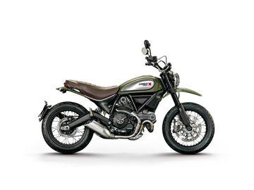 Resim Givi 7407A Ducatı Scrambler 800 (15) Motosiklet Rüzgar Siperliği