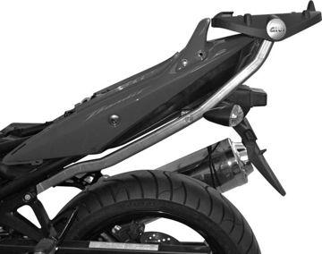 Resim Givi 540FZ Suzuki GSF 650 Bandit - S-K9-l0-l1-l2-l3-l4 (09-14) Motosiklet Arka Çanta Taşıyıcı