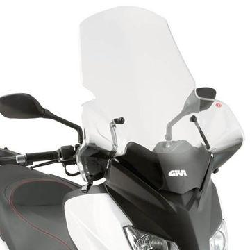 Resim Givi 446DT Yamaha X-Max 125-200 (10-13) Motosiklet Rüzgar Siperliği