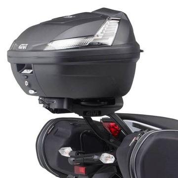 Resim Givi 4104FZ Kawasakı ER-6N - ER-6F 650 (12-15) Motosiklet Arka Çanta Taşıyıcı