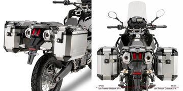 Resim Givi PL1111CAM Honda NC 700 X-S - NC 750 X-S - NC 750 X-S DCT (12-15) Motosiklet Yan Çanta Taşıyıcı