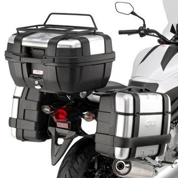 Resim Givi PL1111 Honda NC 700 X-S - NC 750 X-S - NC 750 X-S DCT (12-15) Motosiklet Yan Çanta Taşıyıcı