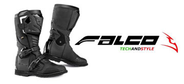 Resim Falco Avantour Motosiklet Botu Siyah
