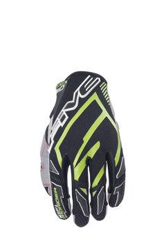 Resim Five Gloves Mxf Prorider Motosiklet Eldiveni Yeşil