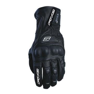 Resim Five Gloves RFX4 Vented Deri Motosiklet Eldiveni Siyah