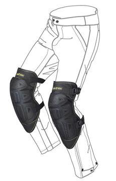 Resim Spidi Safety K-Net Motosiklet Dizliği