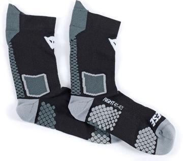 Resim Dainese D-Core Mid Sock Motosiklet Çorabı Siyah Gri