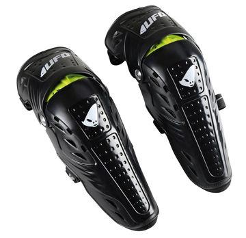 Resim Ufo Syncron Motosiklet Diz Koruması Siyah
