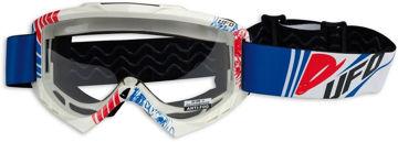 Resim Ufo Bullet Motosiklet Gözlüğü Mavi