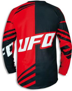 Resim Ufo Cluster Motosiklet Üst Kırmızı Siyah