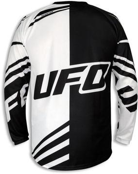 Resim Ufo Cluster Motosiklet Üst Beyaz Siyah