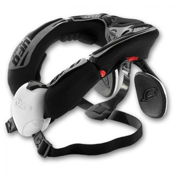 Resim Ufo NSS Motosiklet Boyun Koruması Beyaz Siyah
