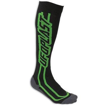Resim Ufo Off-Road Motosiklet Çorabı Yeşil Siyah