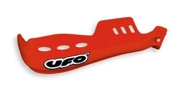 Resim Ufo Oklahoma Motosiklet Elcik Koruması Kırmızı