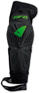 Resim Ufo Professional Evo Motosiklet Dirsek Koruması Yeşil Siyah