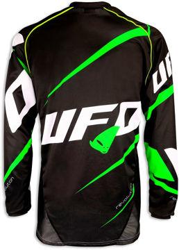 Resim Ufo Revolution Motosiklet Üst Yeşil Siyah