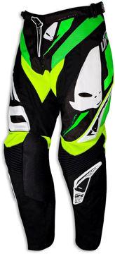 Resim Ufo Revolution Motosiklet Pantolonu Yeşil Siyah